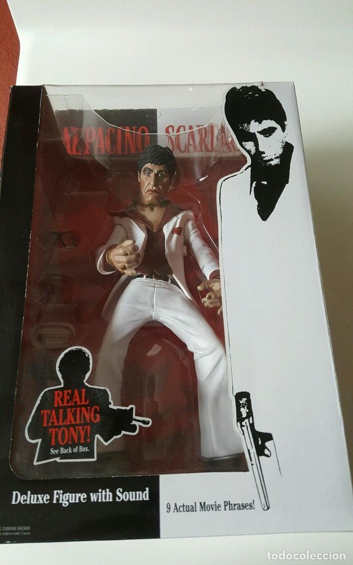 Cine: FIGURA DELUXE SCARFACE * Al Pacino / Tony Montana * Sonido: 9 frases! * Nueva en caja * Ultrarare - Foto 13 - 84599292