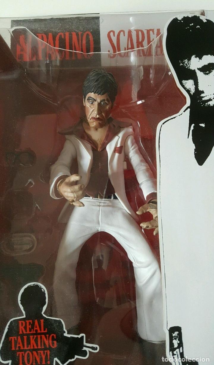 Cine: FIGURA DELUXE SCARFACE * Al Pacino / Tony Montana * Sonido: 9 frases! * Nueva en caja * Ultrarare - Foto 14 - 84599292