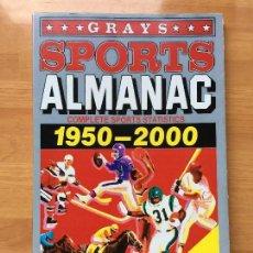 Cine: ALMANAQUE DEPORTIVO (SPORTS ALMANAC) \ GRAYS \ 1950-2000 \ REGRESO AL FUTURO II. Lote 87166544