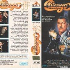 Cinema: CARATULA ORIGINAL TAMAÑO A4 - CHICAGO AÑOS 30. Lote 87277928