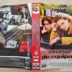 Cine: CARATULA ORIGINAL -A4- EXCESO DE EQUIPAJE - COLE - ALICIA SILVERSTONE. Lote 89704980