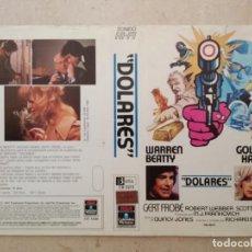 Cinema: CARATULA ORIGINAL -A4- DOLARES - GOLDIE HAWN - ACCION - WARREN BEATTY. Lote 90114848