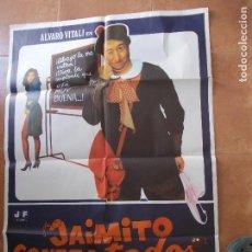 Cine: PÓSTER ORIGINAL PELÍCULA JAIMITO CONTRA TODOS ( ESTUVO EXPUESTO EN EL CINE MORENO DE CONIL CADIZ). Lote 91072900