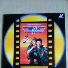 Cine: TOP GUN-TOM CRUISE -KELLY MC GILLIS- LASER DISC- LASERDISC.. Lote 91147394