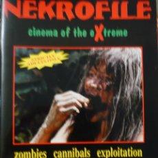 Cine: KEKROFILE CINEMA OF THE EXTREME.ZOMBIES, CANÍBALES, EXPLOITATION, GORE ALAN JONES.CINE DE TERROR. . Lote 92980615