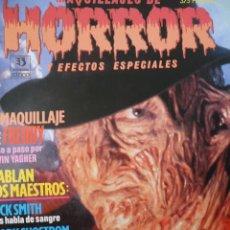 Cine: MAQUILLAJES DE HORROR Y EFECTOS ESPECIALES. FANGORIA, GORE, CINE DE TERROR, FREDDY KRUEGER. . Lote 114248727