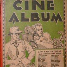 Cine: LIBRO CINE ÁLBUM. 36 FOTOGRAFÍAS DE ESTRELLAS DE CINE CON SUS BIOGRAFÍAS.CINE MUDO.. Lote 92990280