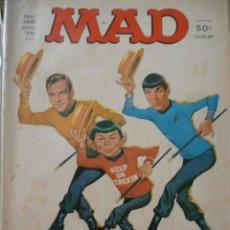 Cine: REVISTA MAD MAGAZINE 186 OCT. 1976 STAR TREK. Lote 93001050