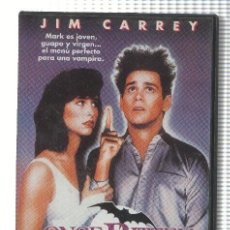 Cine: CINE VHS: ONCE BITTEN: MORDISCOS PELIGROSOS - JIM CARREY. Lote 74659215