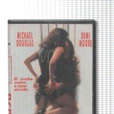 Cine: VHS-CINE: ACOSO - MICHAEL DOUGLAS Y DEMI MOORE (PRECINTADA). Lote 74934949