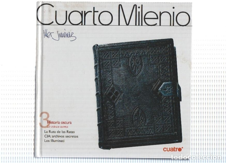 DVD-Documental: CUARTO MILENIO, Numero 03: HISTORIA OSCURA (Cuatro)