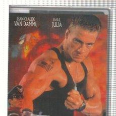 Cine: VHS-CINE: STREET FIGHTER, ULTIMA BATALLA - JEAN CLAUDE VAN DAMME. Lote 73298667