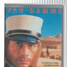 Cine: VHS-CINE: SOLDADO DE FORTUNA - JEAN CLAUDE VAN DAMME. Lote 73298671