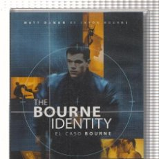 Cine: VHS-CINE: EL CASO BOURNE - MATT DAMON. Lote 73298770