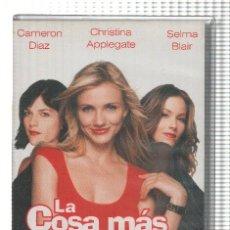 Cine: VHS-CINE: LA COSA MAS DULCE - CAMERON DIAZ. Lote 73299094