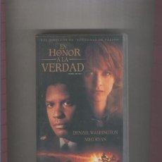 Cine: VIDEO VHS: EN HONOR A LA VERDAD CON DENZEL WASHINGTON Y MEG RYAN. Lote 55529706