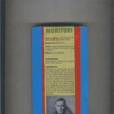 Cine: VIDEO VHS. MORITURI (MARLON BRANDO). Lote 55510116