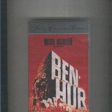 Cine: VIDEO VHS: BEN HUR (CHARLTON HESTON). Lote 55510779