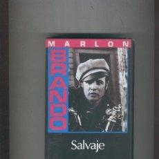 Cine: VIDEO VHS: SALVAJE CON MARLON BRANDO. Lote 55505330