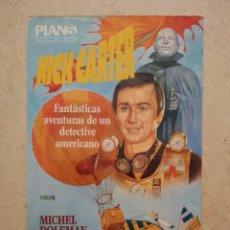 Cinema: MINI-POSTER ORIGINAL -13*18- NICK CARTER - ALBUM - CINE FANTASTICO - O. LIPSKY. Lote 96121991