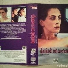 Cine: CARATULA ORIGINAL -A4- DURMIENDO CON SU ENEMIGO MODELO 2- JULIA ROBERTS. Lote 97543135