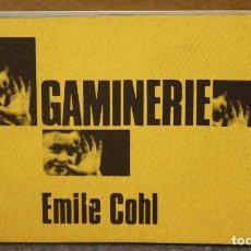 FOLIOSCOPIO. FLIP BOOK. GAMINERIE. EMILE COHL. LA CINÉMATHÈQUE CANADIENNE. AÑO 1967