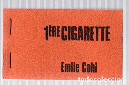 FOLIOSCOPIO. FLIP BOOK. PREMIERE CIGARETTE. EMILE COHL. LA CINÉMATHÈQUE CANADIENNE. AÑO 1967 (Cine - Varios)