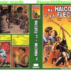 Cine: CARATULA EL HALCON Y LA FLECHA. Lote 98603739