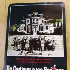 Cine: UN CADAVER A LOS POSTRES . Lote 98659191