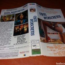Cinema: CARATULA VHS- OJOS INDISCRETOS. Lote 98674856