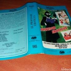 Cinema: CARATULA VHS- PROFESOR EROTICUS- IZARO FILMS. Lote 98700927