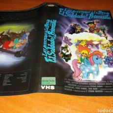Cinema: CARATULA VHS- LAS AVENTURAS DE LA BRUJA EL SOLDADO Y LA PRINCESITA. Lote 98708036