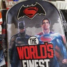 Cine: MOCHILA PEQUEÑA BATMAN VS SUPERMAN. PRODUCTO OFICIAL. NUEVA, CON ETIQUETA.. Lote 98944535