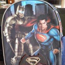 Cine: MOCHILA PEQUEÑA BATMAN VS SUPERMAN. PRODUCTO OFICIAL. NUEVA, CON ETIQUETA.. Lote 98944595