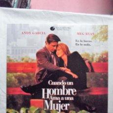 Cine: LASER DISC - CUANDO UN HOMBRE AMA A UNA MUJER CON ANDY GARCIA Y MEG RIAN . Lote 99302083