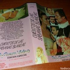 Cinéma: CARATULA VHS- CUENTOS DE LAS SABANAS BLANCAS. Lote 100003683