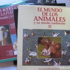 Cine: EL MUNDO DE LOS ANIMALES Y SU MEDIO AMBIENTE - CAJA CON 9 LASER DISC. Lote 101055615