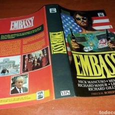 Cinema: CARATULA VHS- EMBASSY. Lote 101656716