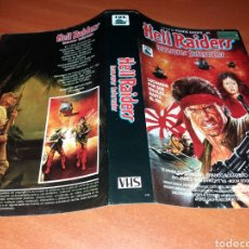 Cine: CARATULA VHS- HELL RAIDERS. Lote 102268316