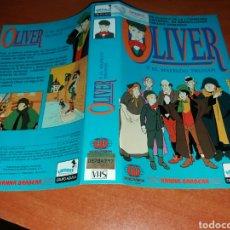 Cinema: CARATULA VHS- OLIVER Y EL MALVADO TRUHAN. Lote 103542956