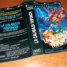 Cinema: CARATULA VHS- LA CALABAZA TRIPONCIA. Lote 103545012