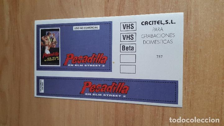 PEGATINA PESADILLA EN ELM STREET 2 - LA VENGANZA DE FREDDY -- FREDDY KRUEGER (Cine - Varios)
