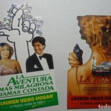 Cine: LOTE PEGATINAS CINE LA RUSA - ETC.. Lote 104307823