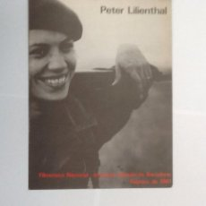 Cine: PETER LILIENTHAL. FILMOTECA NACIONAL-INSTITUTO ALEMÁN DE BARCELONA 1981. Lote 104387255