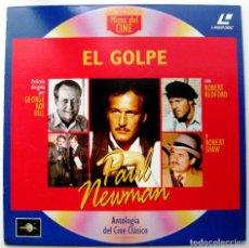 Cine: EL GOLPE - PAUL NEWMAN / ROBERT REDFORD - LASER DISC - ANTOLOGÍA DEL CINE CLÁSICO BPY. Lote 105358047