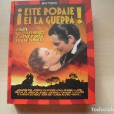 Cine: 3 TOMOS DE ESTE RODAJE ES LA GUERRA DE JUAN TEJERO.. Lote 105722219