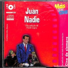 Cine: PELÍCULA JUAN NADIE VIDEO CD + CDI. Lote 105806007