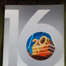 Cinema: LOTE VARIADO DE CATALOGOS, HOJAS Y FOLLETOS CON LISTA DE PELICULAS 16 MM - EVP - BIFILMS - CLARET. Lote 106747411