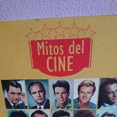 Cine: LOTE 13 DISCOS LASER DISC LD MITOS DEL CINE ANTOLOGÍA DEL CINE CLÁSICO. Lote 198168226