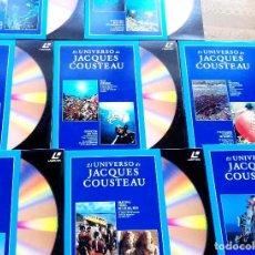 Cine: 8X EL UNIVERSO DE JACQUES COUSTEAU EN LASER DISC. Lote 107900343